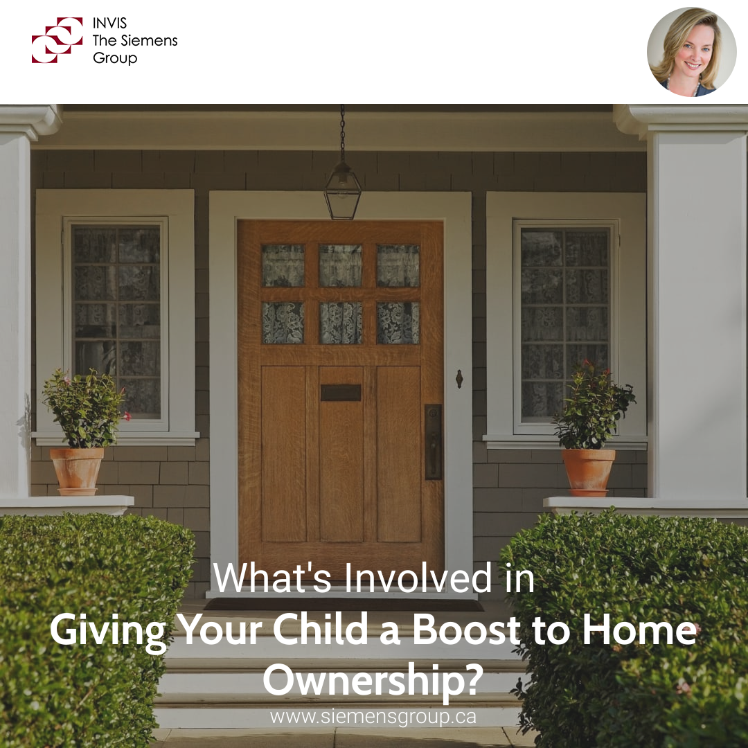 What's Involved in Giving Your Child a Boost to Home Ownership?